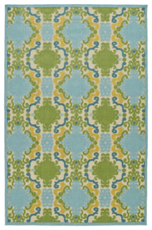 Kaleen A Breath of Fresh Air Fsr101-17 Blue Area Rug