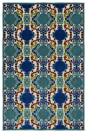 Kaleen A Breath of Fresh Air Fsr101-22 Navy Area Rug