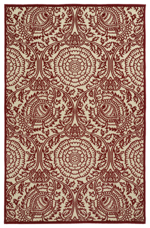 Kaleen A Breath of Fresh Air Fsr102-25 Red Area Rug