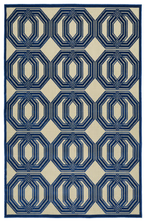 Kaleen A Breath of Fresh Air Fsr103-22 Navy Area Rug