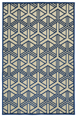 Kaleen A Breath of Fresh Air Fsr106-22 Navy Area Rug