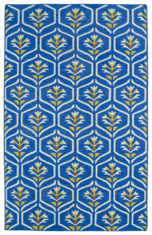 Kaleen Glam Gla08-17 Blue Area Rug