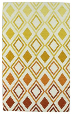 Kaleen Glam Gla09-89 Orange Area Rug