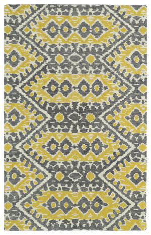 Kaleen Global Inspirations Glb01-28 Yellow Area Rug