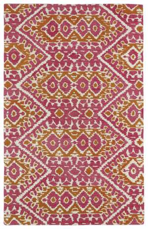 Kaleen Global Inspirations Glb01-92 Pink Area Rug