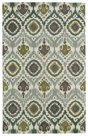 Kaleen Global Inspirations Glb04-50 Green Area Rug
