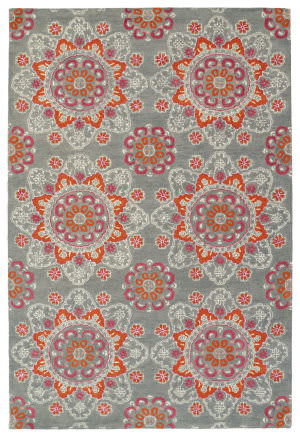 Kaleen Global Inspiration Glb12-75 Grey Area Rug