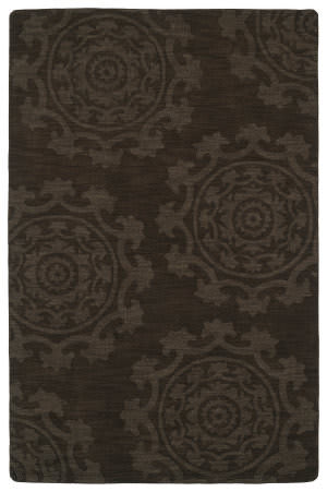 Kaleen Imprints Classic Ipc01-40 Chocolate Area Rug