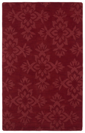 Kaleen Imprints Classic Ipc04-25 Red Area Rug