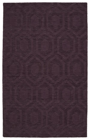 Kaleen Imprints Modern Ipm01-95 Purple Area Rug