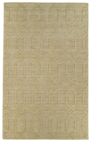 Kaleen Imprints Modern Ipm03-28 Yellow Area Rug