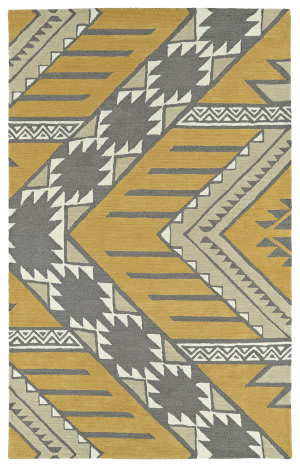 Kaleen Lakota Lkt04-07 Butterscotch Area Rug