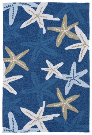 Kaleen Matira Mat04-17 Blue Area Rug