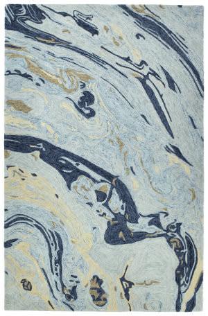 Kaleen Marble Mbl01-17 Blue Area Rug