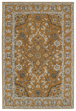 Kaleen Middleton Mid03-106 Terracotta Area Rug