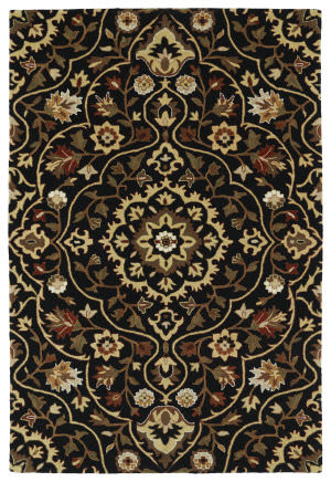 Kaleen Middleton Mid06-02 Black Area Rug