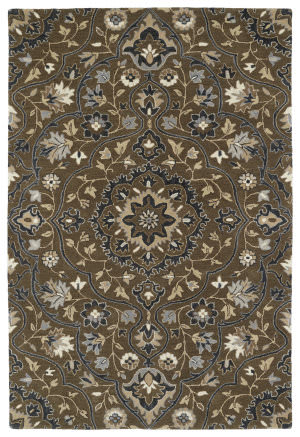 Kaleen Middleton Mid06-40 Chocolate Area Rug