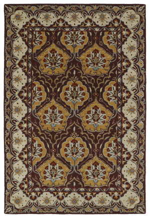 Kaleen Middleton Mid07-108 Wine Area Rug