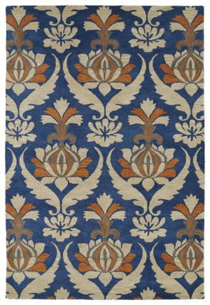 Kaleen Melange Mlg04-17 Blue Area Rug