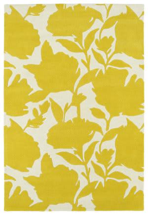 Kaleen Melange Mlg08-28 Yellow Area Rug