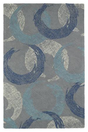 Kaleen Montage Mtg01-75 Grey Area Rug