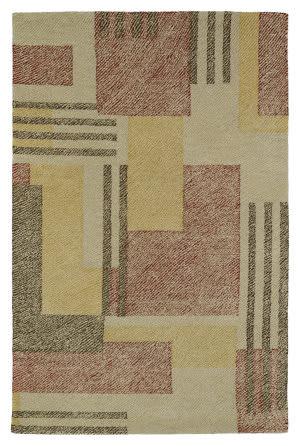 Kaleen Montage Mtg04-43 Camel Area Rug