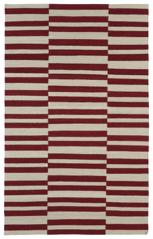 Kaleen Nomad Nom01-25 Red Area Rug