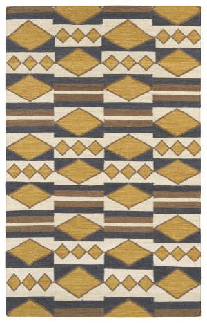 Kaleen Nomad Nom07-05 Gold Area Rug