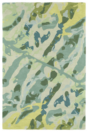Kaleen Pastiche Pas01-78 Turquoise Area Rug