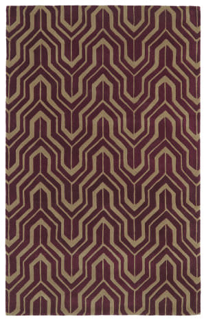 Kaleen Revolution Rev01-87 Plum Area Rug