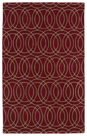 Kaleen Revolution Rev02-25 Red Area Rug
