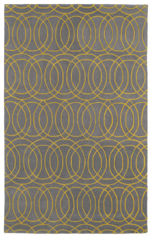 Kaleen Revolution Rev02-28 Yellow Area Rug