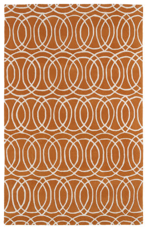 Kaleen Revolution Rev02-89 Orange Area Rug