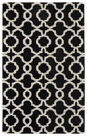 Kaleen Revolution Rev03-02 Black Area Rug
