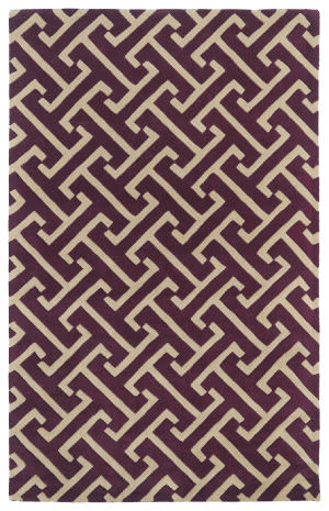 Kaleen Revolution Rev04-87 Plum Area Rug