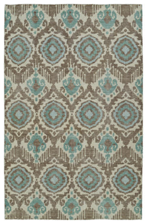 Kaleen Relic Rlc06-82 Light Brown Area Rug