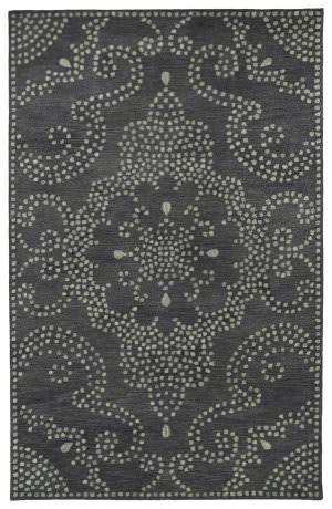 Kaleen Rosaic Roa02-38 Charcoal Area Rug