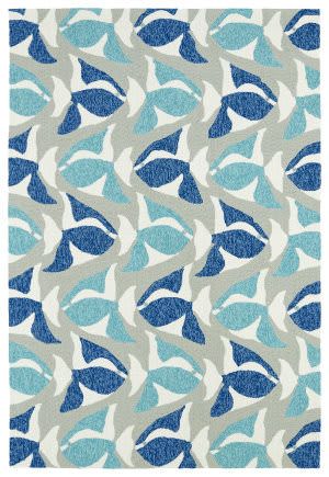Kaleen Sea Isle Sea10-17 Blue Area Rug
