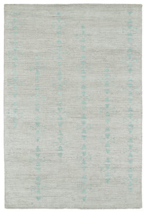 Kaleen Solitaire Sol03-77 Silver Area Rug