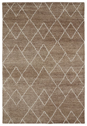 Kaleen Solitaire Sol07-49 Brown Area Rug