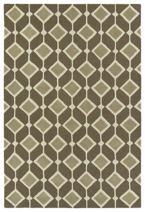 Kaleen Spaces Spa05-49 Brown Area Rug