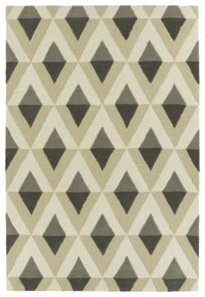Kaleen Spaces Spa06-75 Grey Area Rug