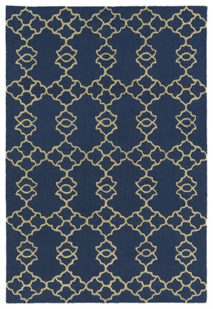 Kaleen Spaces Spa08-17 Blue Area Rug
