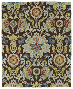 Kaleen Taj Taj02-40 Chocolate Area Rug