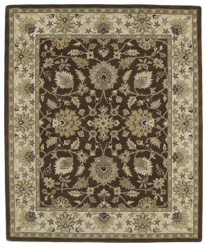 Kaleen Taj Taj09-40 Chocolate Area Rug