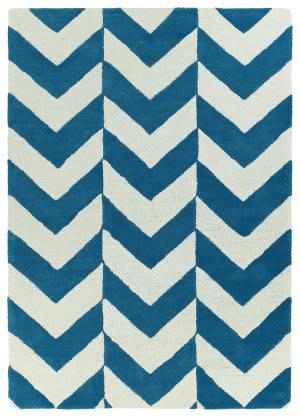 Kaleen Trends Trn02-78 Turquoise Area Rug