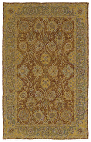 Kaleen Weathered Wtr08-06 Brick Area Rug