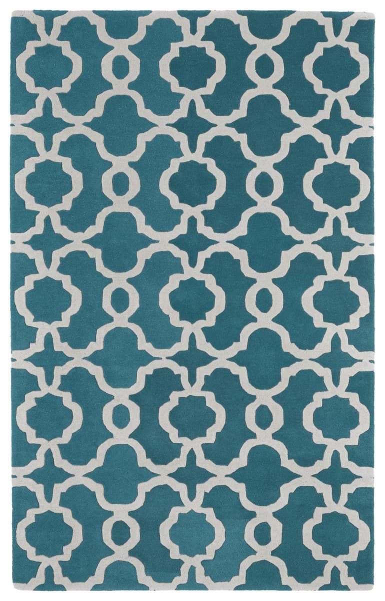 Kaleen Revolution Rev03 91 Teal Rug Studio