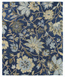Kaleen Brooklyn 5304-17 Blue Area Rug