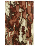 Kaleen Brushstrokes Brs05-30 Rust Area Rug